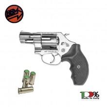 Pistola a Salve Revolver Olimpic 2 Calibro 380 Silver Bruni Art. BR-450N