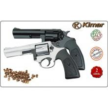 """Revolver a Salve Modello Police POWER 4"""" CAL. 380 MM Cromata o Nera Kimar Art.RP043215 331.000"""