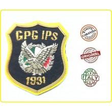 Ricamo Canutiglia Ricamato a Mano con Velcro G.P.G. I.P.S. Incaricato di Pubblico Servizio New  Art.NSD1138
