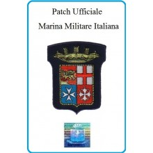 Patch Termoadesiva Araldico Marina Militare Originale Art.EU046