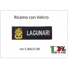Patch Toppa Ricamata Con Velcro cm 5,00x15,00 Lagunari San Marco Art.15-5-LA