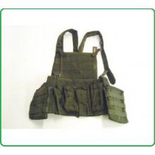 Corpetto Tattico Giubbino Cyber Verde OD 7 Tasche Porta Camelback Royal Art.RP-046V