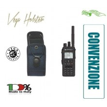 Porta Radio Portaradio Blu Navy Universale in Cordura con Chiusura Regolabile Vega Holster Italia Nuova Divisa Polizia di Stato Convenzione COISP Art. 2R00B-COISP