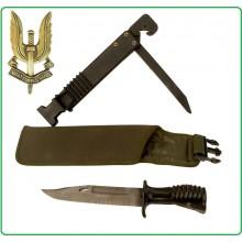Coltello Lama Fissa Da Collezione Baionetta Esercito Inglese SAS RAF SA80 M.SCHEIDE Art.15473500