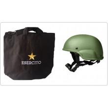 Sacca Zaino Portacasco Porta Casco Helmtasche Helmet Laptop Bag con Logo Esercito Italiano Nuovo Logo Art.BAG-EI-NEW
