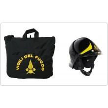 Sacca Zaino Portacasco Porta Casco Helmtasche Helmet Laptop Bag con Logo Vigili Del Fuoco Art.BAG-VVFF