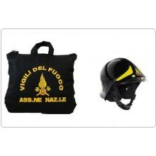 Sacca Zaino Portacasco Porta Casco Helmtasche Helmet Laptop Bag con Logo Ass. Nazionale Vigili Del Fuoco VVFF  Art.BAG-VVFF-ASS
