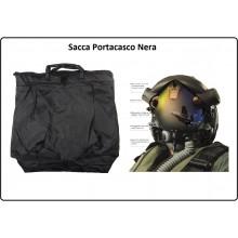 Sacca Portacasco Porta Casco Helmet Bag Nera Aeronautica Esercito Polizia Carabinieri Art.359360