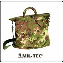 Sacca Borsa Zaino Portacasco Porta Casco Vegetata Esercito Italiano Marina Militare Aeronautica Mil-Tec Art.13826042