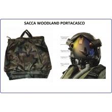 Sacca Borsa Zaino Portacasco Porta Casco Woodland Aeronautica Esercito Carabinieri Polizia Art.359361