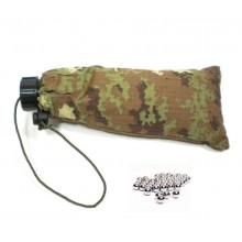 Sacchetto Porta Pallini 6 mm Soft Air Guerra Simulata Vegetato FINE SERIE Art.JQ-01