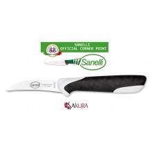 Linea Sakura Professional Knife Coltello Verdura Spelucchino cm 7 Sanelli Italia Cuoco Chef Art. 331507