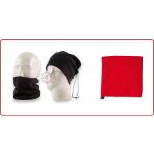 Scaldacollo Scalda Collo Pile Doppio Uso Rosso Senza Loghi Neutro Art.NSD-B-RO