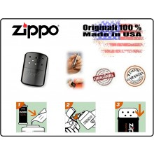 Scaldamani Salda Mani Colore Nero Zippo Originale Hand Wareman 12 h di durata Freddo Neve Sci Montagna Art.429706