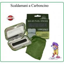 Scaldamani Scalda Mani a Carboncino con Custodia Climi Freddi Caccia Sci Art.VA7085