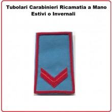 Gradi Tubolari Carabinieri Ricamati a Mano Canuttiglia New Scelto Art.CC-CAN-8