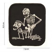 Patch Toppa Ricamata Sex Skulls Teschi Innamoarti Art.442302-985
