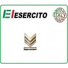 Gradi Metallo Esercito Italiano Sergente Maggiore Capo Art.EI-M21