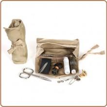 Borsetto in Stoffa Ago Filo Forbice Kit Cucito Originale Esercito Italiano Nuovo Art.469007