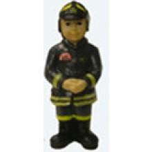 Statuina in Resina Dipinta a Mano Vigile del Fuoco Pompieri Art.SEU058 07041