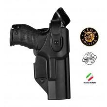 Fondina Professionale  Polimero Stampato Vega Holster italia 2° Grado Sicurezza Art.SHWP8