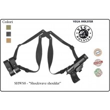 Versione Ascellare Shockwave della Fondina in Polimero Shockwave shoulder Vega Holster Italia Art.SHWS8