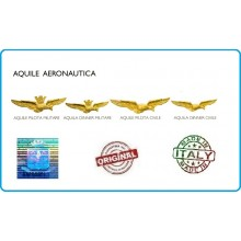 Aquila Aeronautica Brevetto Pilota Civile o Militare Originale Art.BREV-AM-5