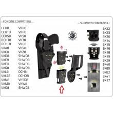Sistema Rotativo RDQA 8K31 Connessione Rapida Vari Colori Vega Holster Italia Art.8K31