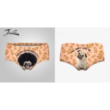 Slip Donna You Just Love My Doggystyle  Idea Regalo taglia Unica Elasticizzata Art.ALI-DOG