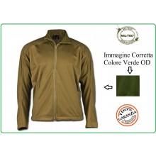 Giacca Sotto Giacca Giubbino Softshell Jacket Mil-Tec Verde OD Art.10862001-902