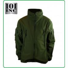 Giacca Giubbino Impermeabile Soft Shell Jack Tactical Waterprof Softshell PCU Verde OD 101 INC Originale Art.129840OD