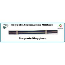 Soggolo Tessuto  Aeronautica Militare Sergente Maggiore Art.NSD.AMSM