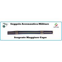 Soggolo Tessuto  Aeronautica Militare Sergente Maggiore Capo  Art.NSD.AMSMC