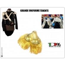 Coppia di Spalline Uniforme Storica GUS Carabinieri Oro + Oro Tenente Grande Uniforme Art.NSD-GUS-OO