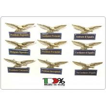 Spilla Aquila Piccola Distintivo Di Specialità GG Guardie Giurate Associazioni Tutte Art.718-GG