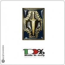Spilla Corso Ardimento - Pattugliatore Scelto - Blu Esercito Italiano Carabinieri Art.SPILLA-AB