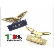 Spilla Aquila Distintivo Di Specialità A.E.O.P. Associazione Nazionale Operatori di Polizia Art.718-AEOP
