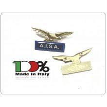 Spilla Aquila Distintivo Di Specialità Associazione A.I.S.A. Art.718-AISA