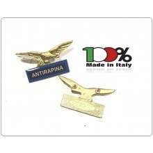 Spilla Aquila Distintivo Di Specialità GG Guardie Giurate Vigilanza Antirapina Anti Rapina Art.718-A