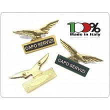 Spilla Aquila Distintivo Di Specialità GG Capo Servizi Art.718-C.S.R