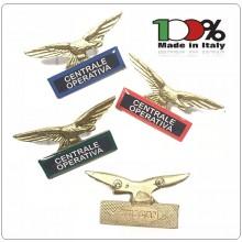 Spilla Aquila Distintivo Di Specialità GG Centrale Operativa Art.718-C.O.V