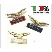 Spilla Aquila Distintivo Di Specialità GG Guardie Giurate Vigilanza Ispettore  Art.718-2