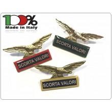 Spilla Aquila Distintivo Di Specialità GG Guardia Giurata Scorta Valori  Art.718-S.V.B