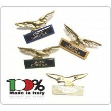 Spilla Aquila Distintivo Di Specialità GG Unità Cinofila Art.718-U.C.