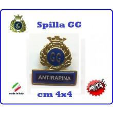 Spilla Armetta New Distintivo Di Specialità GG  ANTIRAPINA Art.430-1