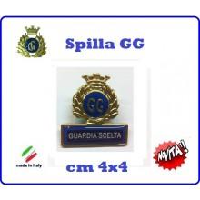 Spilla Armetta New Distintivo Di Specialità GG  GUARDIA SCELTA Art.430-2