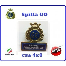 Spilla Armetta New Distintivo Di Specialità GG  SERVIZI AREOPORTUALI Art.430-3