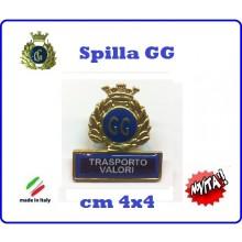 Spilla Armetta New Distintivo Di Specialità GG  TRASPORTO VALORI Art.430-4