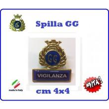 Spilla Armetta New Distintivo Di Specialità GG  VIGILANZA Art.430-5