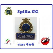 Spilla Armetta New Distintivo Di Specialità GG  VIGILANZA AMBIENTALE Art.430-6